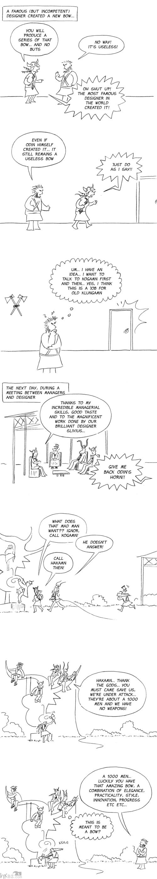 Arcus's revenge
