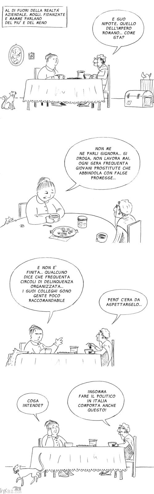 Pettegolezzi e politica a Roma