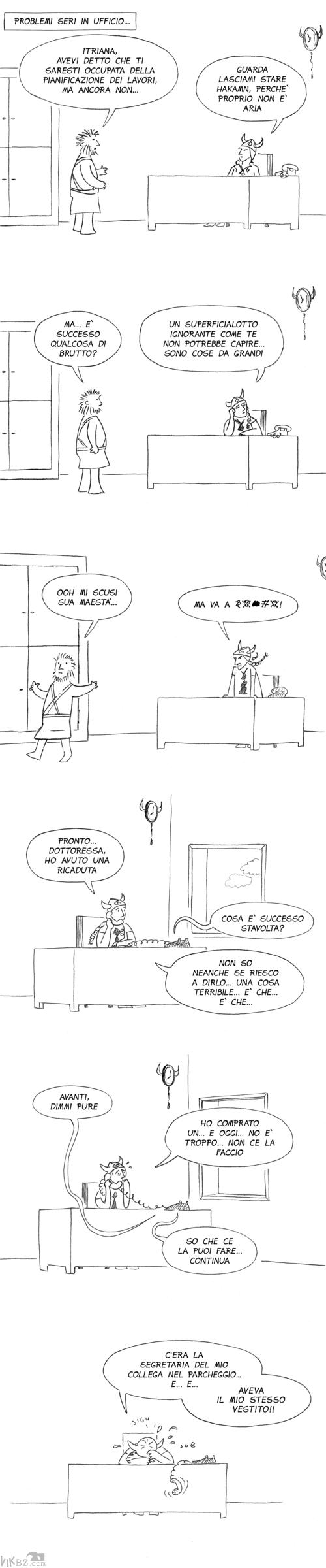 Problemi seri per l'amante del capo