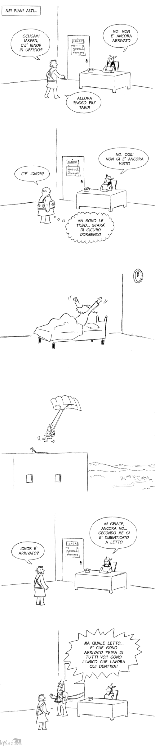 Manager, parapendii e sveglie all'alba