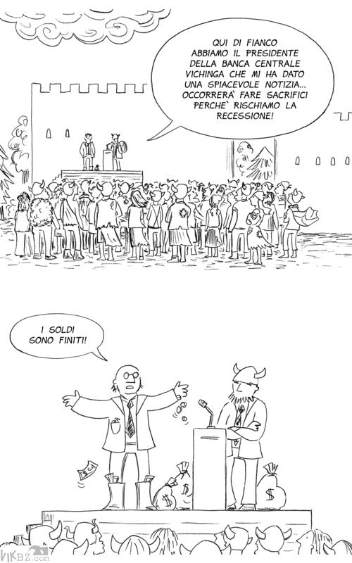 Politici e banchieri e recessione ...