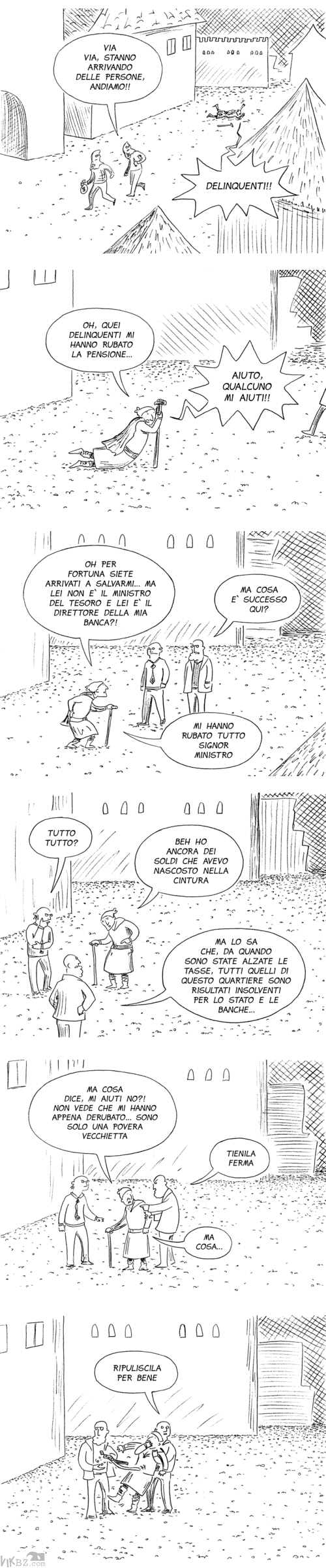 A volte non si percepisce la differenza (fortuna che è solo un fumetto)