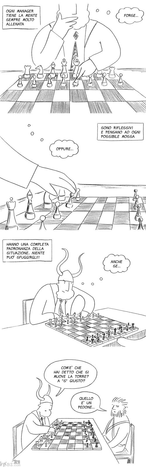 Manager ed elaboratore strategie di gioco
