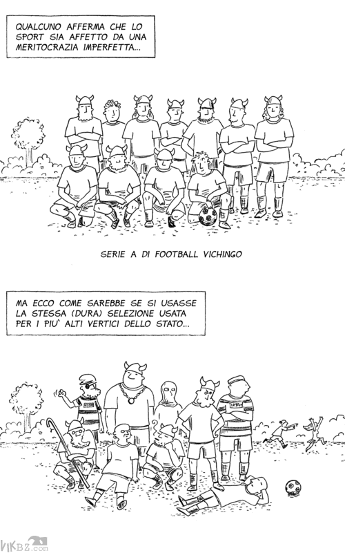 Come sarebbe il calcio se fosse fatto da politici