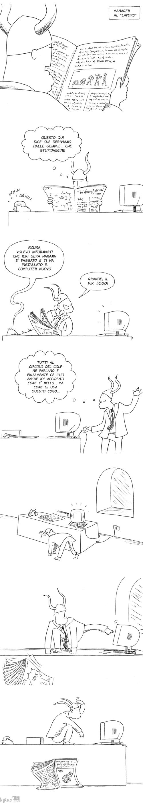 Manager vs teoria evoluzionistica (un tributo a Zoolander)